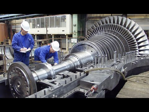 This is How Turbine Production, Technology In Modern Industry Change The World