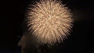隅田川花火大会2015The most popular fireworks display in Tokyo Star Beauty From Fukushima Japan