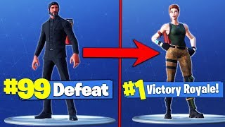 Do Expensive Skins MAKE YOU *LOSE* In Fortnite Battle Royale?!