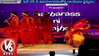 Youth Focuses on Dandiya and Garba Dance | Dussehra (song content)