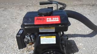 Отзыв видео мотопомпа Fubag PG 300.(, 2014-09-29T18:00:51.000Z)