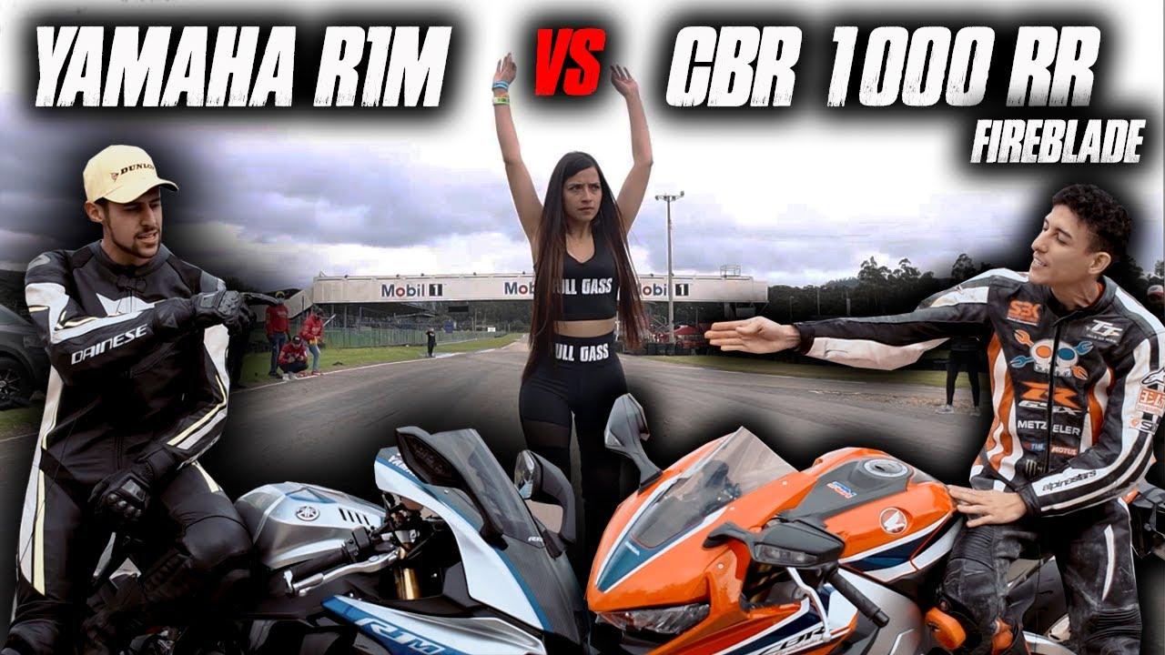 CBR 1000R fireblade MARIO VS R1M Daniel
