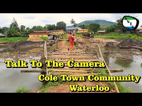 Talk To The Camera - Cole Town Community Waterloo - Sierra Leone