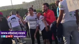 حالات إغماء عقب ماراثون زايد الخيري بالتجمع الخامس.. فيديو
