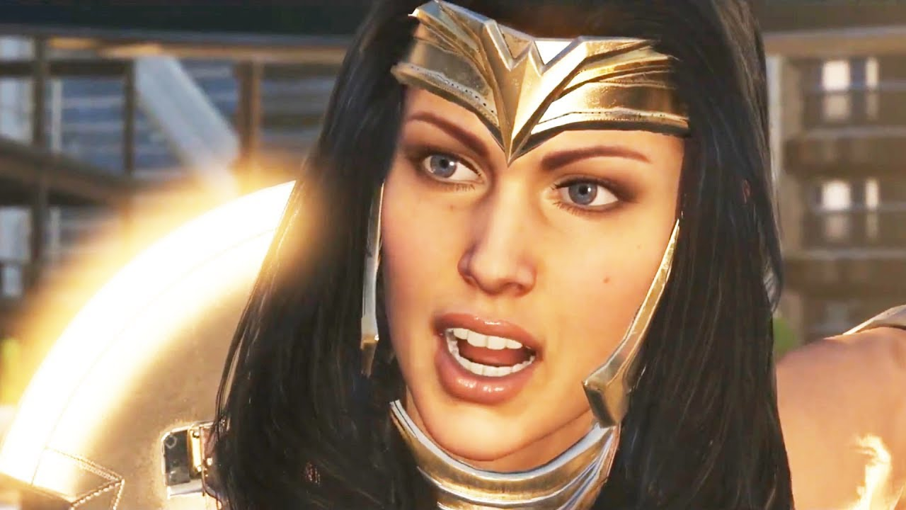 Download Wonder Woman Full Movie Injustice 2 All Cutscenes (Game Movie)