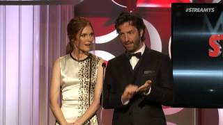 Darby Stanchfield and David Milchard Present Best First Person Series - Streamy Awards 2014