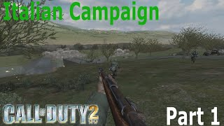 Call of Duty 2: Italian Campaign Part 1 - Battle of the Alps