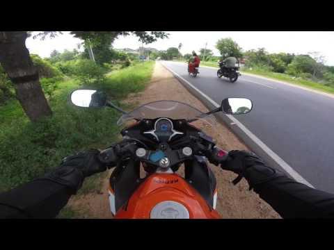 Bangalore to Chennai on bike