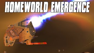 Homeworld Emergence Campaign Gameplay - Homeworld Cataclysm Returns