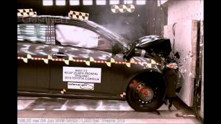 2010 Toyota Corolla | Frontal Crash Test | CrashNet1