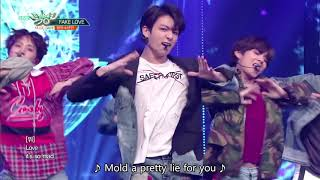 Baixar BTS (방탄소년단) - FAKE LOVE [Music Bank HOT STAGE / 2018.06.08]