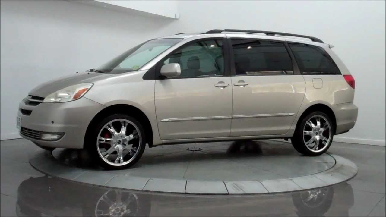 2004 Toyota Sienna Xle Limited Awd Youtube