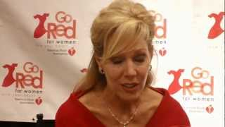 Lynn Holly Johnson Go Red Connect Event Submission from Orange County, CA