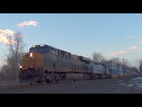 HiDef: UP ACe Leaders, Lease Power, Standard Cabs & More on CSX's Selkirk Branch, 1-23-15.