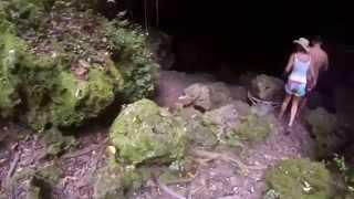 Hidden Grotto in LIFOU