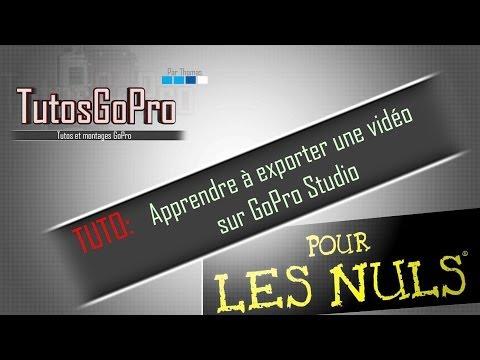 TUTO: Apprendre à exporter une vidéo sur GoPro Studio #8из YouTube · Длительность: 4 мин31 с