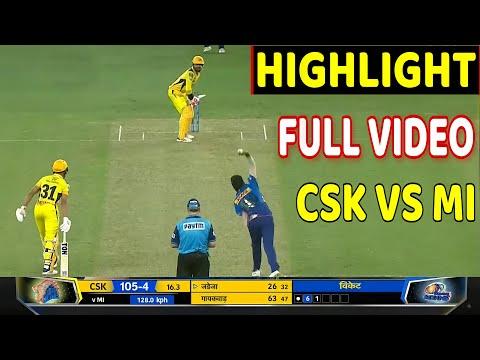 IPL 2021:CSK VS MI 30TH IPL MATCH HIGHLIGHT,CHENNAI VS MUMBAI INDIANS FULL HIGHLIGHT   CSK VS MI IPL