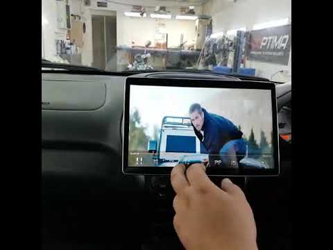 """Универсальная магнитола Klyde KD-1280-P6 в стиле Tesla экран 12,1"""" Купить Обзор"""