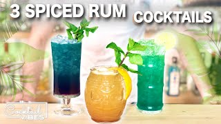 3 Delicious SPICED RЏM Cocktails | Cocktail Recipes
