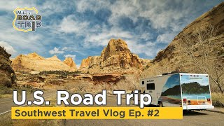 USA Road Trip in a Cruise America RV - Southwest Edition  [Episode 2]