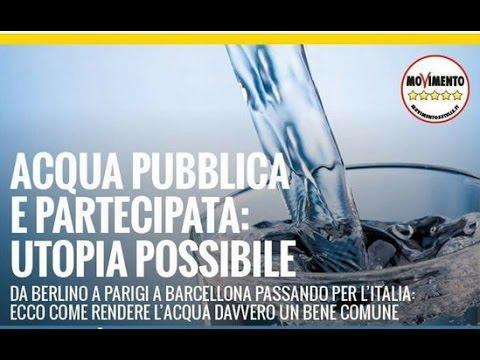 ACQUA Pubblica: Utopia Possibile