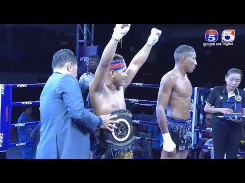 Kun khmer, Roeung sophorn vs thlago Dasilva, TV5 Cambodia 10 December 2017, Muay Thai