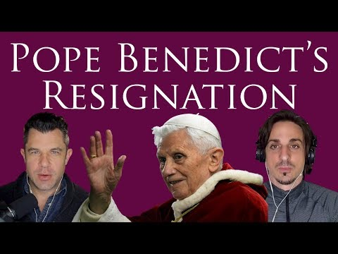Pope Benedict's Resignation: An Analysis