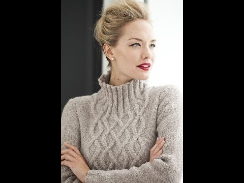 Молодежные Свитера Спицами для Девушек - 2019 / Youth Sweater Knitting Needles For Girls