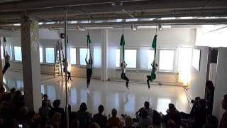Aerial Dance group - Vertical Club Springshow 2015