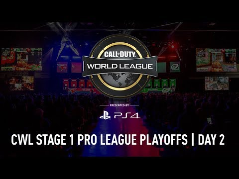 CWL Pro League Stage 1 Playoffs 2018 | Day 2