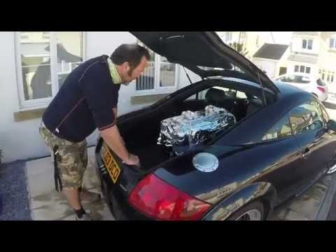 How to make an Audi R8 from a TT