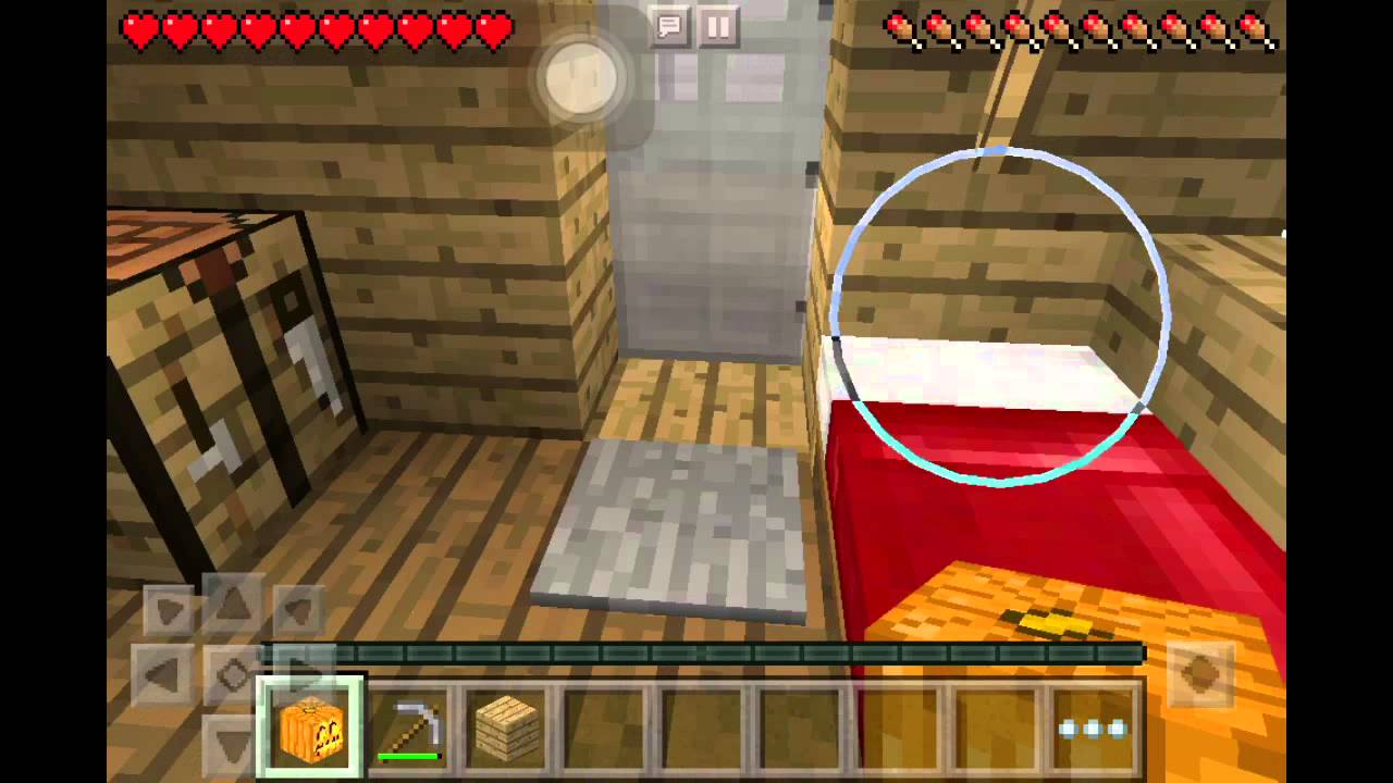 how to make iron golem in minecraft pe