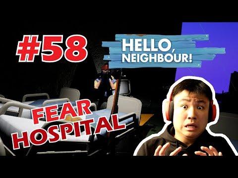 FEAR HOSPITAL HORROR BANGET !! - Hello Neighbor [Indonesia] Mod #58