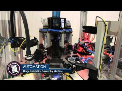 Hinge Assembly Machine | Automation - Fabrication - Distribution
