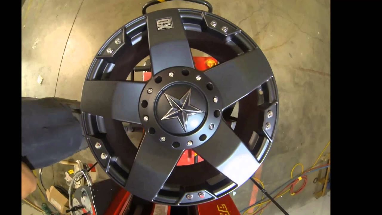 Jeep Wrangler Tires And Rims >> KMC XD Series Rockstar 775 Black - YouTube