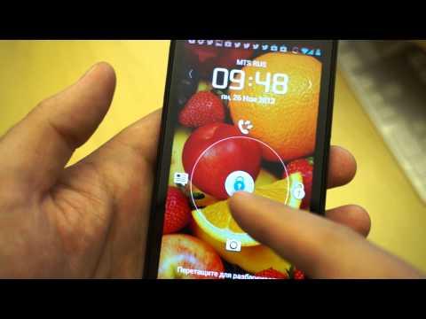 Видео Huawei P1 XL