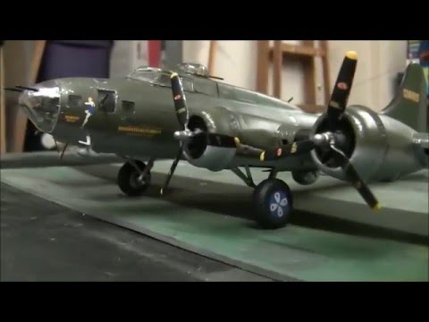 'Memphis Belle' B-17F 1:48 Scale Model From Revell Finished