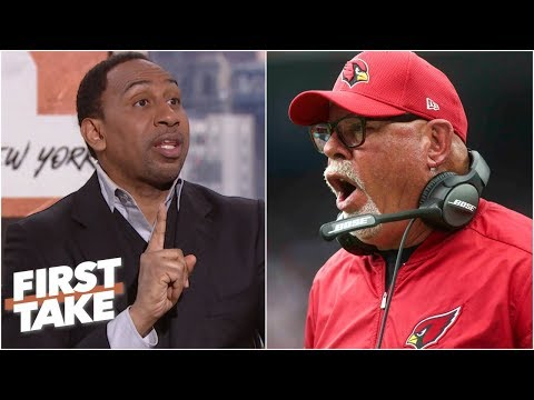 Bruce Arians hiring by Bucs gives Stephen A. cause to pause | First Take