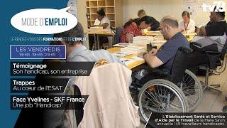 Mode d'emploi. Les travailleurs handicapés à Saint-Quentin-en-Yvelines