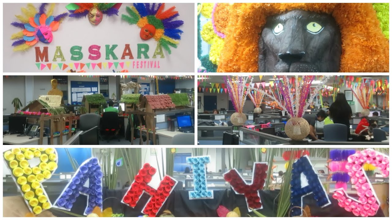 Vlog Incredible Philippine Festival Decorations Done In The Office