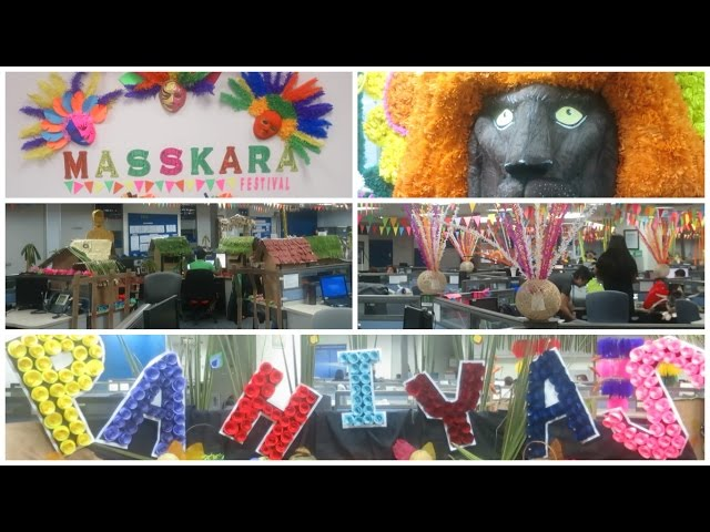 Vlog: Incredible Philippine Festival Decorations Done in the Office