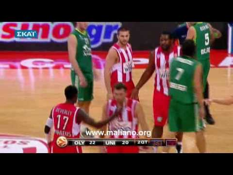 Williams and Beverley Fight in Olympiakos - Malaga Match