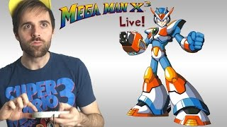 Mega Man X3 Longplay (SNES) Live Stream