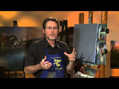 Yellowstone Wonder, A complete painting lesson by Jerry Yarnell