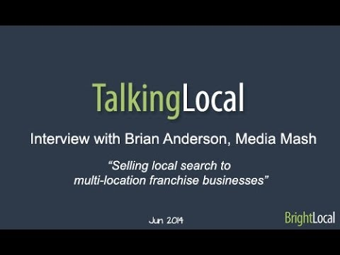 Talking Local - Brian Anderson Interview