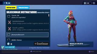 PLAYING FORTNITE $ REGALING SKIN X THE 40 SUB XD1/41/2