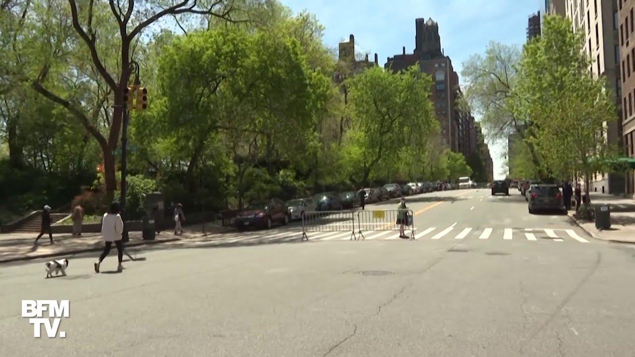 New York bloque certaines de ses rues pour faciliter la distanciation sociale