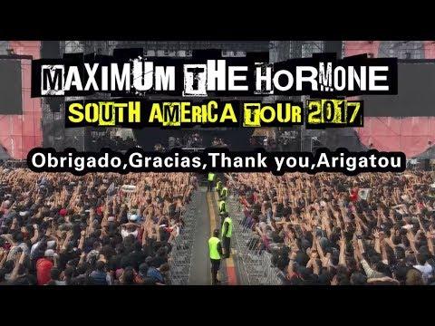 【南米TOUR】言葉の壁を超えるホルモン流MC!