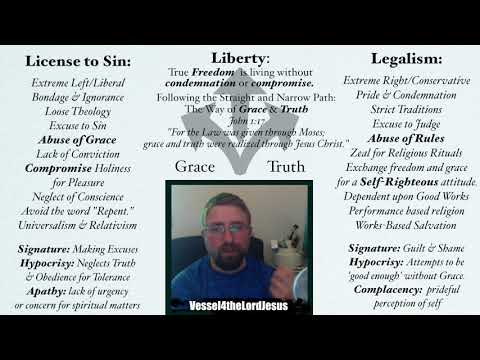 Christian Liberty: Exposing the Extremes of Religious Legalism \u0026 Liberal Heresy