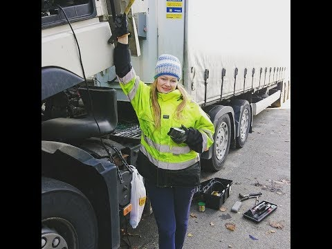 Trucking Girls TV Scandinavia Привет работа